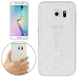 Crazy4Gadget Ice Sculptures TPU Protective Case with Handle for Samsung Galaxy S6 edge / G925(White)