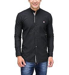 Fender Zone Men's Casual Shirt - 21141_Black_40