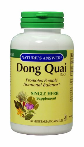 Nature's Answer Dong Quai Root, 90-Count