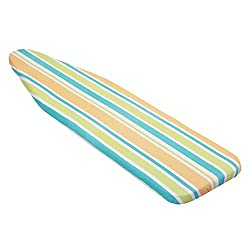 Honey-Can-Do Basic Striped Ironing Board Cover with Silicone Coated Pad