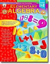 CARSON DELLOSA ELEMENTARY ALGEBRA GRADES 1-2 - 1