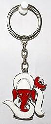 Odishabazaar Beautiful Metallic Ganesha Key Chain