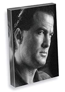 STEVEN SEAGAL - Canvas Print (A5 - Signed by the Artist) #js001