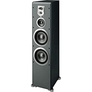 JBL ES90BK 4-Way, Dual 8-Inch Floorstanding Speaker - Black