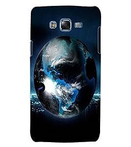 ColourCraft Earth Design Back Case Cover for SAMSUNG GALAXY J5
