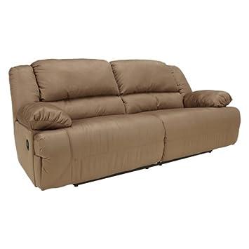 Contemporary Mocha Hogan 2 Seat Reclining Sofa