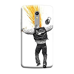 Ebby Premium Printed Back Case Cover With Full protection For Motorola Moto X Play (Designer Case)