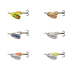 Blue Fox Classic Vibrax Spinners Size: 0; Color: Rainbow Trout (616)