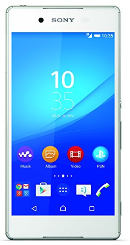 Sony Xperia Z3+ Smartphone, Display 5,2 Pollici, Full-HD-Display, Octa-Core-Processore, 20,7 MP Fotocamera, 32 GB Memoria, Android 5.0, Bianco [Germania]