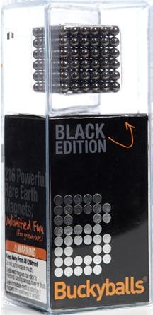 BUCKYBALLS BLACK EDITION AMAZING 216 MAGNETIC
