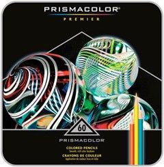 Prismacolor Pencil 60 Color Box Set