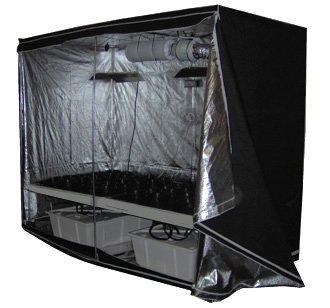 Hydro Grow Room Deluxe Complete 4' x 8' x 7'
