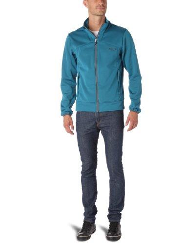 Oakley - Giubbotto Goods Soft Shell secondo strato, uomo, Blu (Azzurro aurora), L