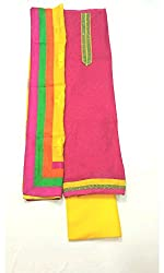 BEAUVILLE VAIIBAVAM Women's Unstiched Salwar Material (BVPCUC_30_Multi_Free Size)