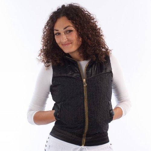 Adidas Lace Puff Vest P51107 senza maniche donna Moda