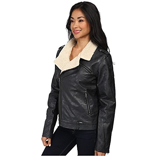 (ボルコム) Volcom レディース アウター ジャケット Laced Moto Jacket 並行輸入品