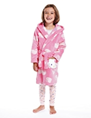 Hello Kitty Hooded Dressing Gown