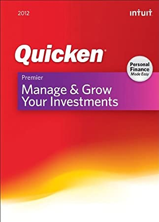 Quicken Premier 2012 [Download] [OLD VERSION]