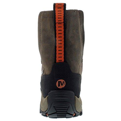 Merrell Women S Polarand Rove Moc Waterproof Slip On Shoe Boot