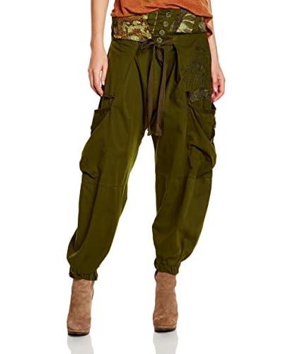 Desigual Pantalón Venecia Verde