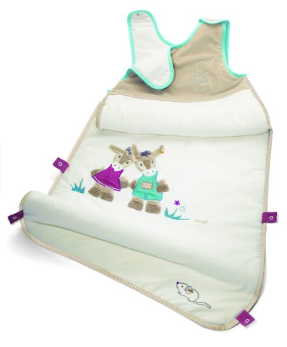 Issy Donkey Sleeping Bag, Cream