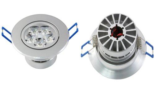 Lemonbest® Led Spotlight 15W Warm White 100V-245V Ceiling Bulb Recessed Cabinet For Indoor Illumination, Pack 5