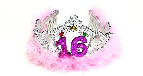 Forum Novelties Flashing Birthday Tiara #16 Novelty Item