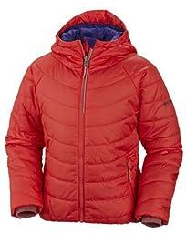 Columbia Sportswear Girls\' Shimmer Me Jacket - Red/Purple Lotus - X-Small (6-7)