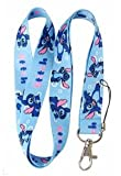 Disney's Stitch From Lilo and Stich Keychain Lanyard