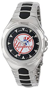 MLB Mens MLB-VIC-NY5 Victory Series New York Yankees Top Hat Watch by Game Time