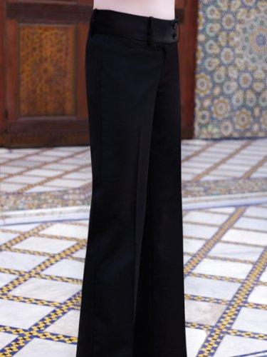 Brook Taverner Miranda Suit Trouser in Black 18S