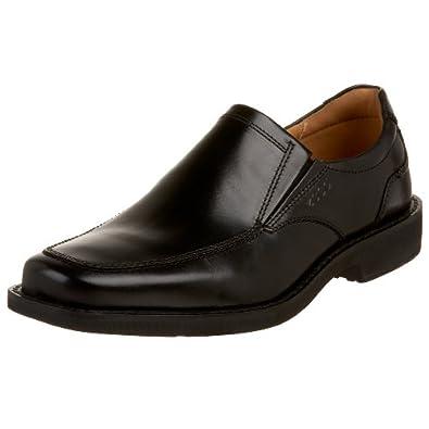 (顶级)(顶级)爱步ECCO Men's Seattle Slip On真皮内衬缓震全牛皮商务鞋,棕$139.14,码全 Men's Seattle Slip On真皮内衬缓震全牛皮商务鞋,棕$139.14,码全