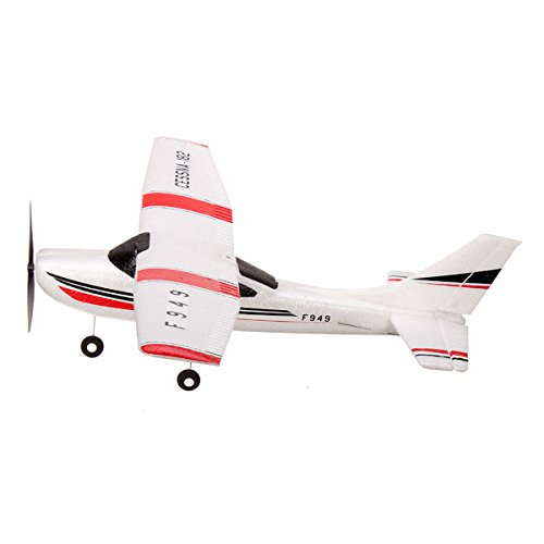 Wltoys F949 3Ch 2.4G Rc Fixed Wing Plane/Electric Flying Aircraft