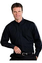 Ed Garments Men's Banded Collar Shirt