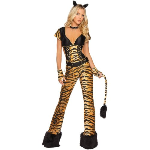 Rockin' Tigress Costume - Small/Medium - Dress Size 2-6