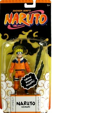 Picture of Mattel Naruto Basic Naruto Uzumaki Action Figure (B000SZFCJ6) (Naruto Action Figures)