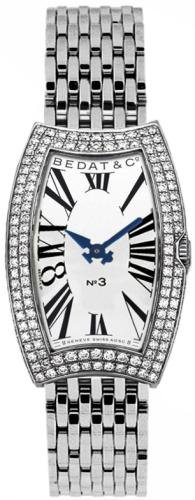 Bedat & Co. Women's 384.051.600 No.3 Diamond Bracelet Watch