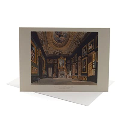 William Kent 'Drawing Room' Greeting Card||EVAEX
