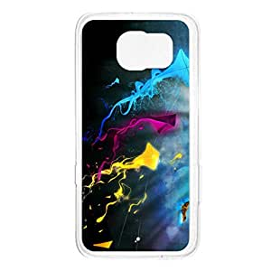 a AND b Designer Printed Mobile Back Cover / Back Case For Samsung Galaxy S6 Edge (SG_S6_2711)