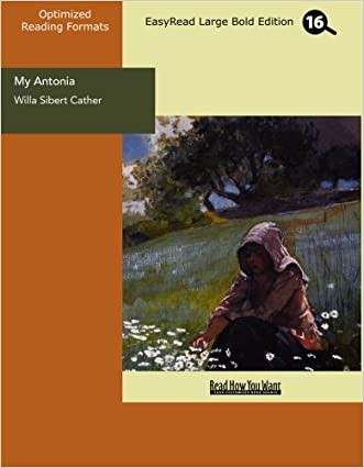 My Antonia (EasyRead Large Bold Edition)