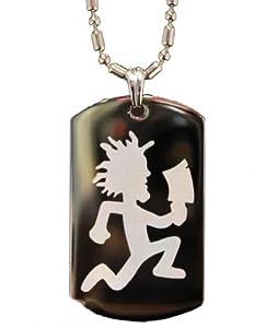 hatchetman juggalo engraved dogtag necklace w