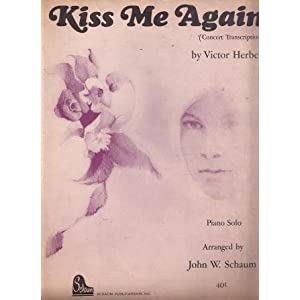 Kiss Me Again (Concert transcription) Victor Herbert