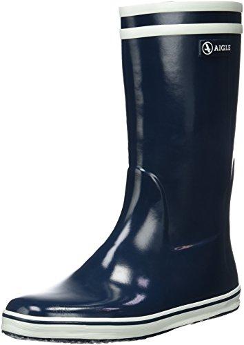 Aigle Malouine, Stivali da Pioggia Donna, Blu (Indigo), 39 EU