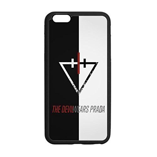 Devil Wear Prada Band Rubber Tpu Silicone Snap On Cover Protector Case For iPhone 6 , iphone 6 with 4.7