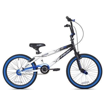 Best Seller Bike for Children 20″ Kent Ambush Boys' BMX Bike, Blue | Steel BMX Handlebars