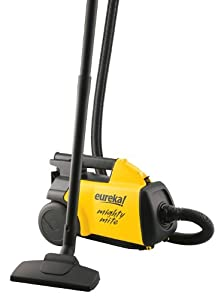 Brand New, Eureka - Mighty Mite Canister Vacuum Yellow/Black (Appliances - Vacuums and Floor Care)