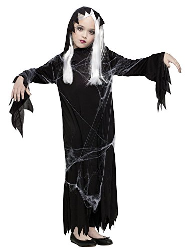 Spider Web Ghost Child Halloween Costume Size:Large
