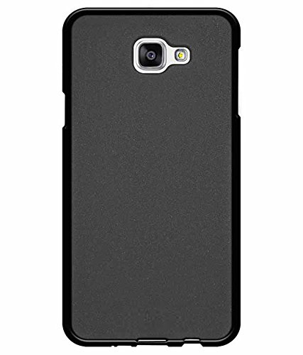 Samsung Galaxy J7 Prime Back Cover, Matte Soft TPU Black Cover Case For Samsung J7 Prime Back Cover