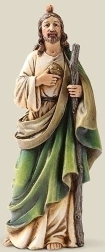 Patron of Hopless Causes Saint St Jude Statue Figure 6