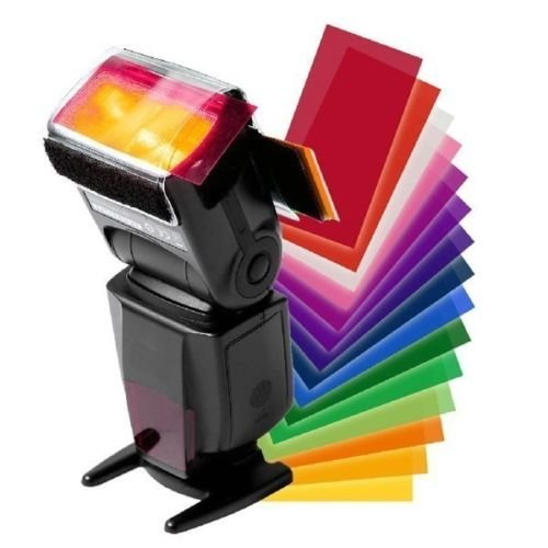 12 Color Flash Diffuser Kit for CANON SPEEDLITE 600EX 580EX II 430EX 320EX 270EX (Speedlite 270ex Ii Flash compare prices)